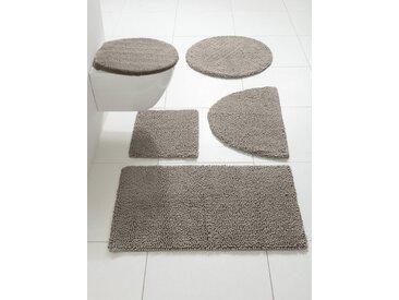 heine home Badteppich mit hohem Schlaufenflor, braun, taupe