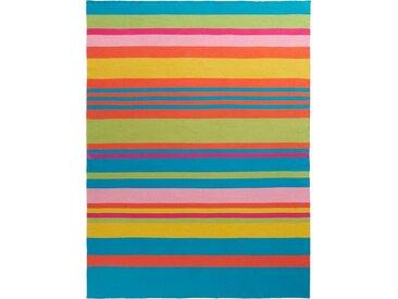 BIEDERLACK Plaid »Colour Blocking«, mit bunten Streifen