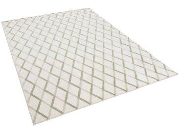 Pergamon Designteppich »Designer Teppich Retro Montana Rauten«, Rechteckig, Höhe 13 mm