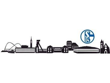 Wall-Art Wandtattoo »FC Schalke 04 Skyline + Logo« (1 Stück)