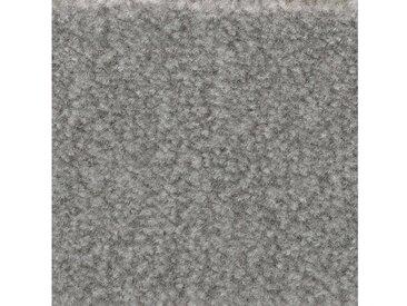 Bodenmeister BODENMEISTER Teppichboden »Velours gemustert«, Meterware, Breite 400/500 cm, grau, grau