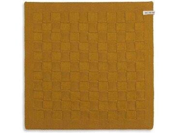 Knit Factory Tischdecke »Küchentuch Uni Ocker«