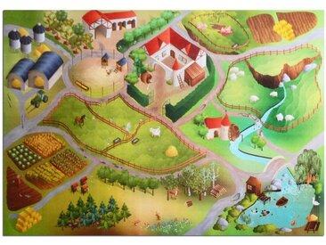 Floordirekt Kinderteppich »Spielteppich Bauernhof«