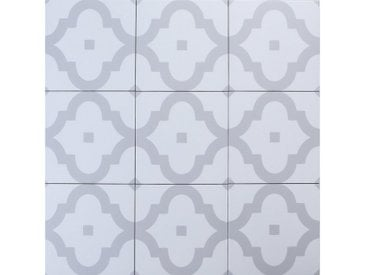 Casa Moro Fliesenaufkleber » Orientalische Keramik-Fliesen Ladakhi 20x20 cm 1 qm aus Feinsteinzeug in Zementoptik, Bodenfliesen & Wandfliesen im Bad & Küchenrückwand