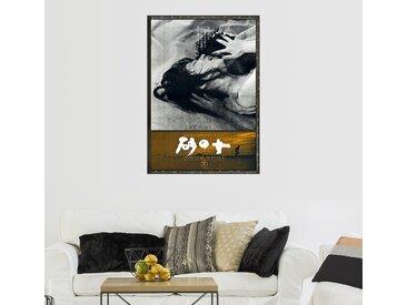 Posterlounge Wandbild, Leinwandbild Die Frau in den Dünen (japanisch), Leinwandbild, Leinwandbild Die Frau in den Dünen (japanisch)