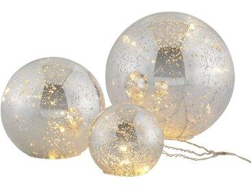Home affaire LED Kugelleuchte »Balls«, im 3-teiligen Set, bestehend aus Ø 10, 15, 20 cm