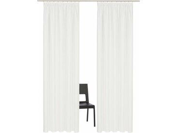 Home affaire Vorhang »Parry«, Kräuselband (2 Stück), natur, natur