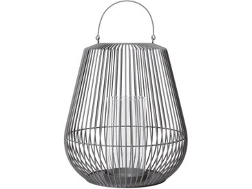 BLOMUS Laterne »NIDEA medium steel gray«