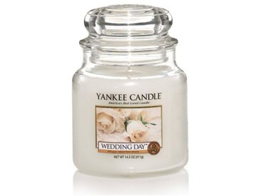 Yankee Candle Duftkerze »Classic Housewarmer Mittel Wedding Day«