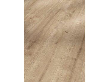 PARADOR Laminat »Basic 600 - Eiche geschliffen«, Packung, Kantenimprägnierung, 1285 x 243 mm, Stärke: 8 mm