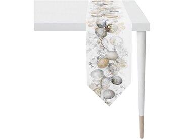 APELT Tischband »6908 HAPPY EASTER« (1-tlg), Digitaldruck, natur, weiß-natur-hellbraun-anthrazit