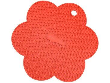 Kochblume Topflappen »Waben-Untersetzer«, Hitzebeständig bis 230°, rot, rot