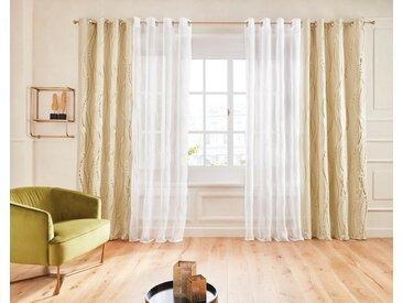 Guido Maria Kretschmer Home&Living Vorhang »Prag«, Ösen (1 Stück), Foliendruck, democratichome Edition, weiß, creme