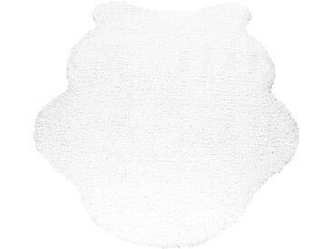 Ayyildiz Fellteppich »Schaffell 1000«, fellförmig, Höhe 50 mm, Kunstfell, natur, creme