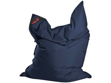 Magma Heimtex Sitzsack »Big Foot«, Indoor / Outdoor geeignet, blau, jeansblau