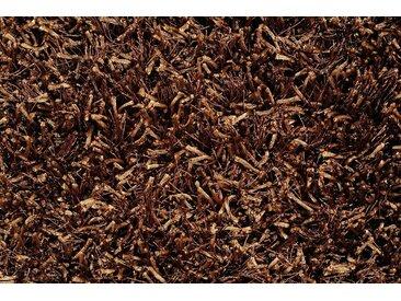 Al Mano Teppichfliese »Shaggy«, quadratisch, Höhe 30 mm, 40x40x3 cm, braun, dunkelbraun
