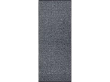BT Carpet Läufer »Bouclé«, rechteckig, Höhe 5 mm, grau, anthrazit