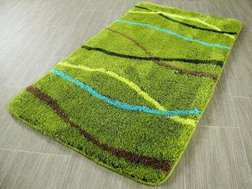 Pacific Badematte » Badteppich Nevis Streifen« , Höhe 13 mm, Grün