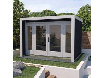 weka Gartenhaus »263 Gr.2«, BxT: 305x250 cm, grau, lackiert, anthrazit-naturbelassen