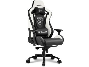 Sharkoon Gaming-Stuhl »SKILLER SGS4 Gaming Chair Eintracht Frankfurt«, schwarz, Schwarz