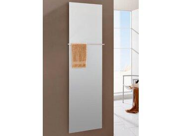 SZ METALL Heizkörper »Mirror Steel 18«, mit Handtuchhalter, silberfarben, silberfarben