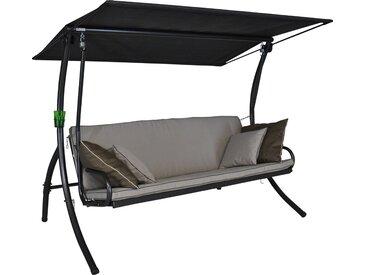 Angerer Freizeitmöbel Hollywoodschaukel »Elegance Style«, 3-Sitzer, Bettfunktion, inkl. Auflagen und Zierkissen