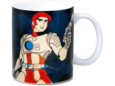 LOGOSHIRT Tasse mit tollem Helden-Print »Captain Future Science«, bunt, farbig