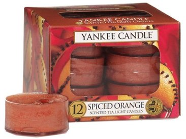 Yankee Candle Duftkerze »Spiced Orange 12er Pack Teelichter«