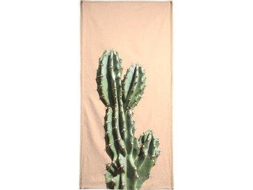 Juniqe Handtuch »Cactus 01« (1-St), Weiche Frottee-Veloursqualität