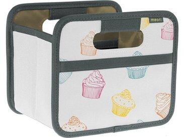 Meori Faltbox » - Faltbox Mini Aufbewahrungsbox Klappbox Cupcake A100310«