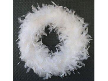 440s Adventskranz »Feder-Kranz aus Hühnerfedern weiß, D ca. 45 cm, «, zertifiziert_sterilisiert_behandelte_Hühnerfedern