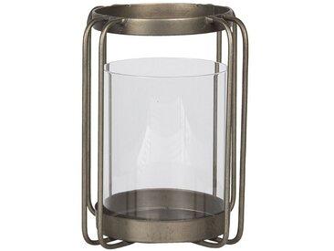 Clayre & Eef Laterne » Laterne Braun Metall / Glas 6Y3866«
