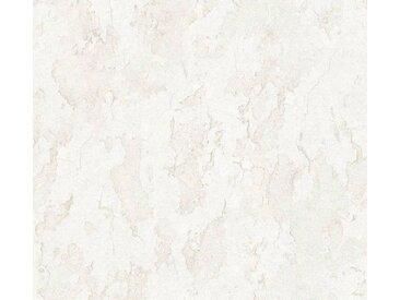 living walls Vliestapete »Beton Concrete & More«, Beton-Optik, grau, weiß-grau