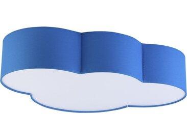 Licht-Erlebnisse Deckenleuchte »WOLKI Blaue Deckenleuchte mit Magnethalterung Jungs Kinderlampe Lampe«