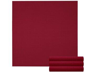 Lashuma Handtuch Set »Pure« (Set, 4-tlg), Geschirrtuch 4er Set, Küchentücher Waffelpique 50 x 50 cm, rot, burgund