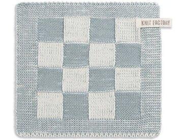 Knit Factory Tischdecke »Topflappen Block Ecru/Stone«