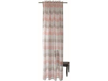 HOMING Vorhang, Homing Schlaufenschal Robin 140x245 Vorhang Wohnzimmer halbtransparent rose