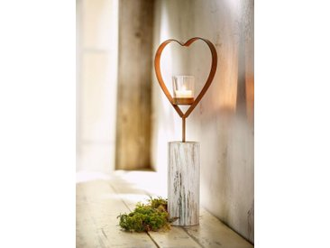 HomeLiving Kerzenhalter »Herz«