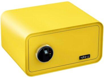 BASI Tresor »mySafe 430«, mit Fingerabdruck, gelb, gelb