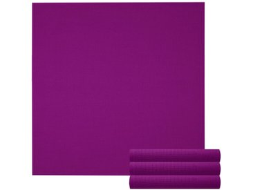 Lashuma Handtuch Set »Pure« (Set, 4-tlg), Geschirrtuch 4er Set, Küchentücher Waffelpique 50 x 50 cm, lila, lila
