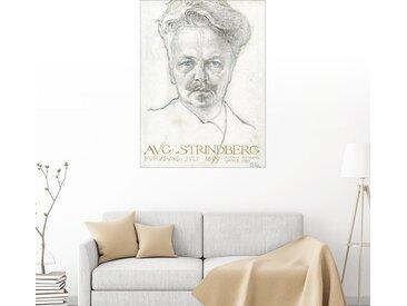 Posterlounge Wandbild, August Strindberg, Premium-Poster