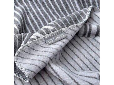 SEI Design Wohndecke »Kassandra«, mit Logo, grau, silbergrau
