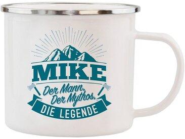 HTI-Living Becher »Echter Kerl Emaille Becher Mike«