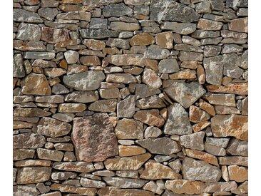 Komar Vliestapete »Stone Wal«, glatt, Steinoptik