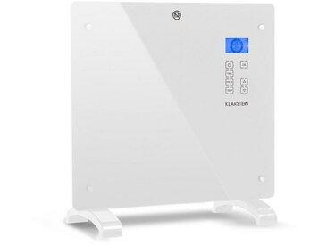 Klarstein Konvektions-Heizgerät Thermostat Timer 1000 W »Norderney«, weiß, Weiß