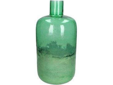 Engelnburg Dekovase » Vase Blumenvase Glas Grün 34x17x17«