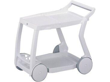 Best Servierwagen »Galileo«, Kunststoff, BxLxH: 84x60x76 cm, weiß, weiß