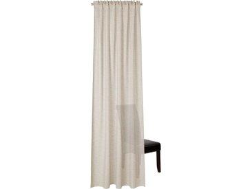 Neutex for you! Vorhang »Biella«, verdeckte Schlaufen (1 Stück), HxB: 245x142, Schal mit verdeckten Schlaufen, natur, leinen