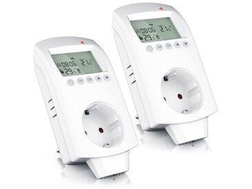 BEARWARE Steckdosen-Thermostat für Heiz- und Klimageräte »Individuell programmierbar«, weiß, weiß