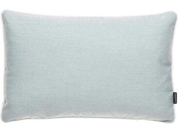 pappelina Dekokissen »Outdoor-Kissen Sunny 38 x 58 cm (rechteckig)«, blau, Pale Turquoise